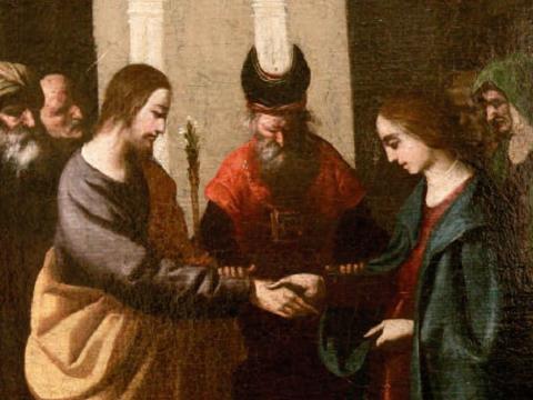 Lo sposalizio della Vergine Maria