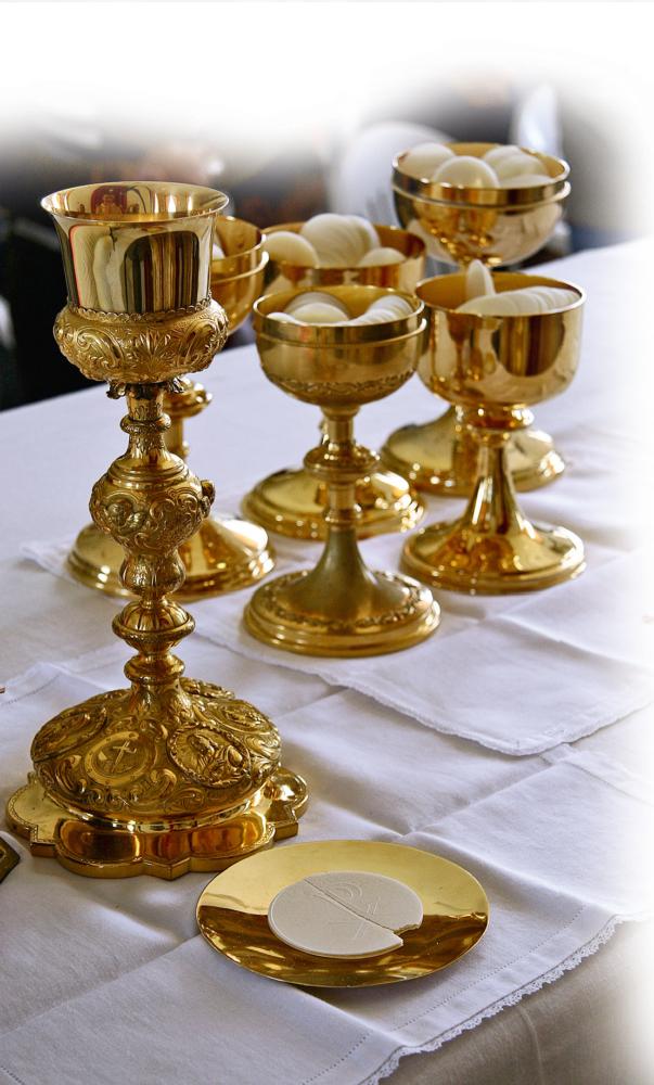 I pani moltiplicati da Nostro Signore sono immagine di un alimento spirituale, l'Eucaristia, che si moltiplica nel mondo intero per portare gli uomini in Cielo