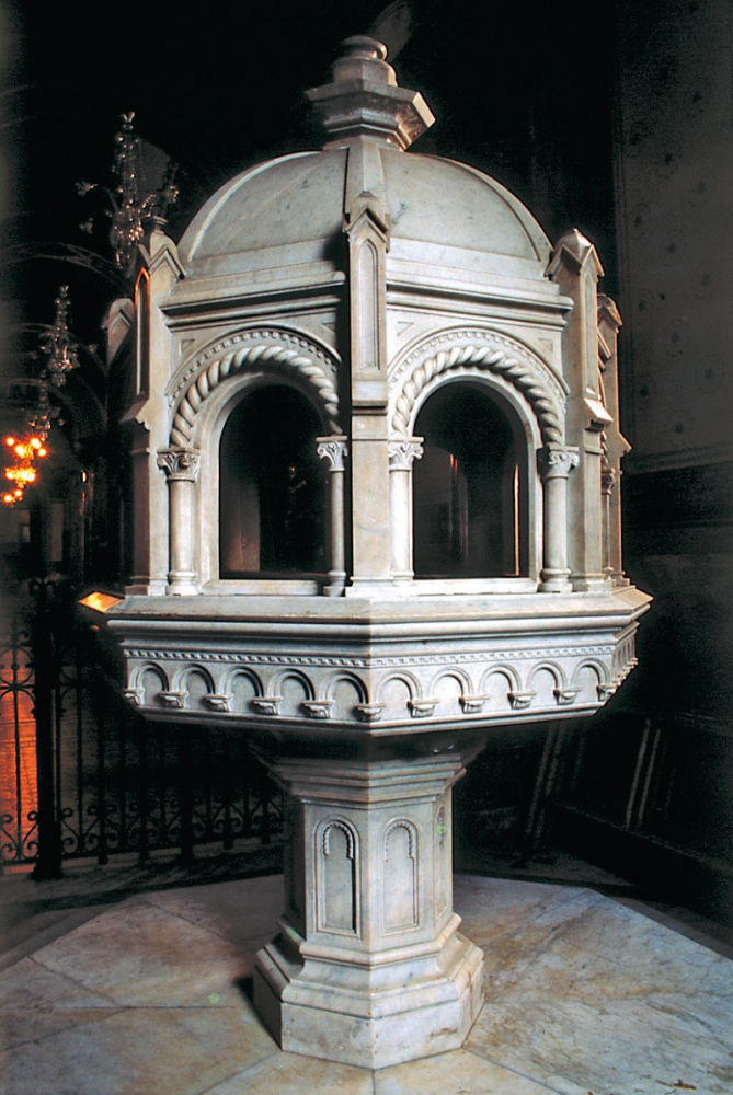 Fonte battesimale – Chiesa di Santa Cecilia, San Paolo