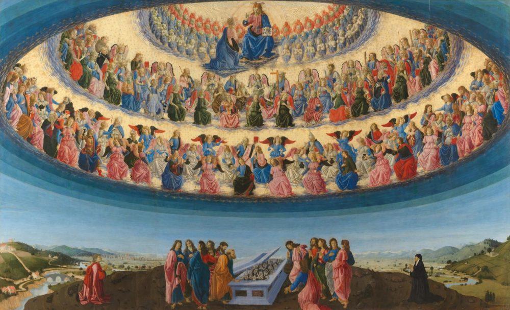 L'Assunzione di Maria, di Francesco Botticini
